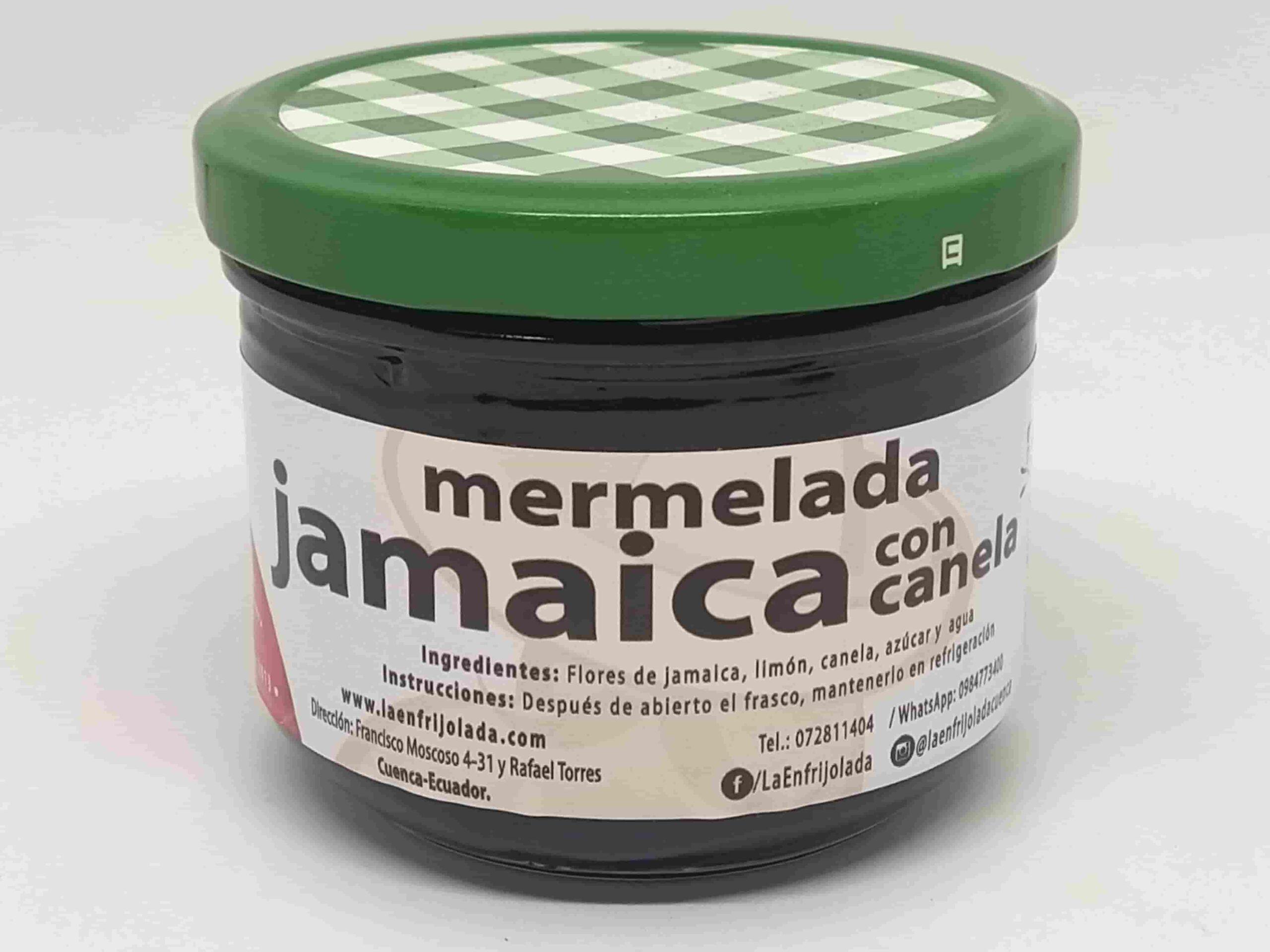 Hibiscus Cinnamon Jam