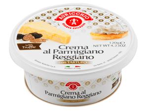 Queso Crema de Parmigiano Reggiano con Trufas