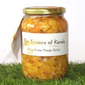 Encurtido de Mango Picante Estilo Kerala