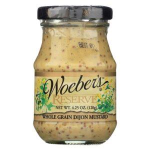 Woeber's Reserve Whole Grain Dijon Mustard